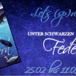 """Let´s (sp)read: Erste Lese-Eindrücke """"Unter schwarzen Federn"""" von Sabrina Schuh"""